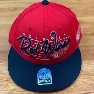 Detroit Red Wings Cap '47 official NHL Hat